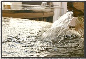 源泉かけ流しの風呂