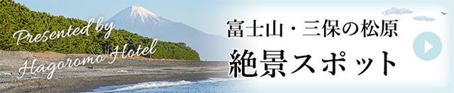 富士山・三保の松原 絶景スポット
