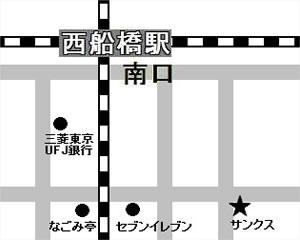 西船橋MAP
