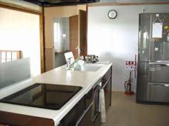 >オール電化のキッチン