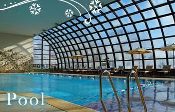 クラブメッド北海道 冬 室内温水プールイメージ