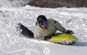 クラブメッド北海道 冬 エアボードツアーイメージ